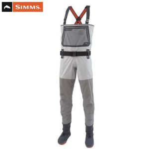 WADERS SIMMS G3 GUIDE STOCKINGFOOT CINDER