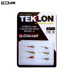 ASSORTIMENT DE 6 MOUCHES TEKLON PERDIGONS A