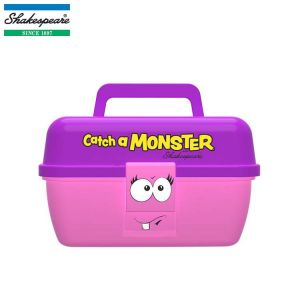 BOITE DE PECHE ENFANT SHAKESPEARE CATCH A MONSTER PINK