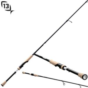 CANNE 13 FISHING OMEN BLACK 1.98m - 3-15gr