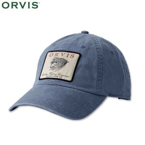 CASQUETTE ORVIS VINTAGE SALMON FLY TWILL CAP