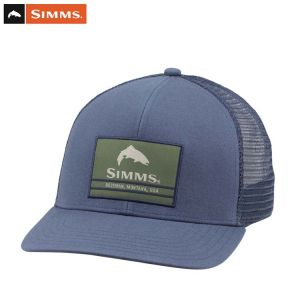 CASQUETTE SIMMS ORIGINAL PATCH TRUCKER DARK MOON