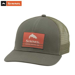 CASQUETTE SIMMS ORIGINAL PATCH TRUCKER FOLIAGE