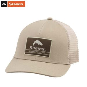 CASQUETTE SIMMS ORIGINAL PATCH TRUCKER TAN