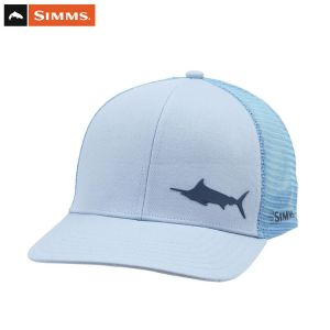 CASQUETTE SIMMS PAYOFF TRUCKER MARLIN GREY BLUE