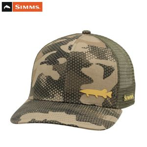 CASQUETTE SIMMS PAYOFF TRUCKER PIKE HEX FLO CAMO TIMBER