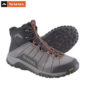 CHAUSSURES DE WADING SIMMS FLYWEIGHT BOOT STEEL GREY