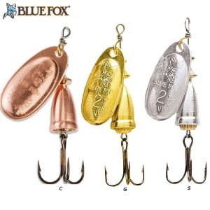 CUILLER TOURNANTE BLUE FOX VIBRAX ORIGINAL