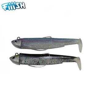 DOUBLE COMBO FIIISH BLACK MINNOW 120 - SEARCH 18GR - MOJITO - RAINBOW