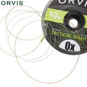 FIL INDICATEUR ORVIS TRICOLOR 0X (0,279mm)