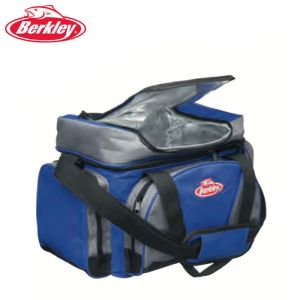 SAC BERKLEY SYSTEM BAG BLUE GREY L + 4 BOITES