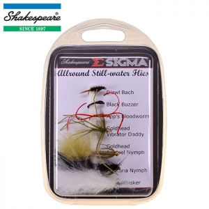 PACK DE MOUCHES SHAKESPEARE SIGMA FLY SELECTION N°3