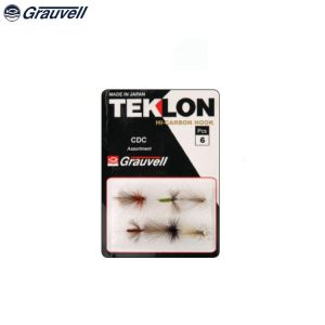 ASSORTIMENT DE 6 MOUCHES CDC TEKLON