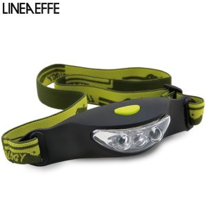 LAMPE FRONTALE 3 LED LINEAEFFE