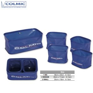 SET SEAU À APPATS COLMIC PVC MULTI BOX