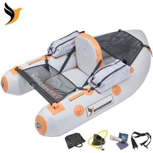 FLOAT TUBE SPARROW ATTACK 165 GRIS / ORANGE