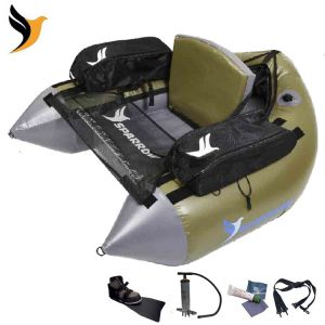 FLOAT TUBE SPARROW COMMANDO VERT COMPLET