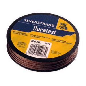 CABLETTE 7STRAND DURATEST 49BRINS 30ft