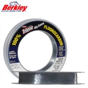 NYLON BERKLEY TRILENE BIG GAME 100% FLUOROCARBON LEADER 68M