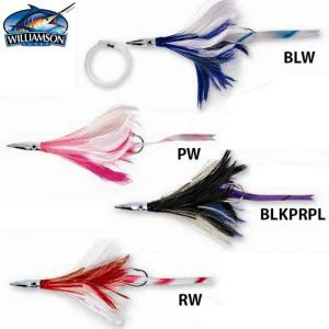 LEURRE WILLIAMSON DIAMOND JET FEATHER WITH SONIC STRIP