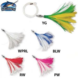 LEURRE JET WILLIAMSON FLASH FEATHER RIGGED