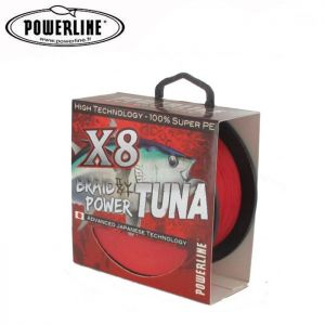 TRESSE POWERLINE BRAID POWER TUNA