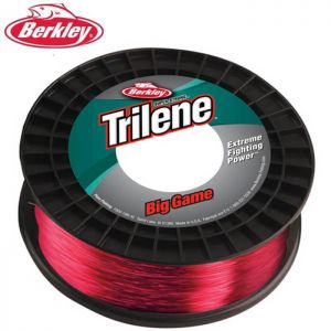 NYLON BERKLEY TRILENE BIG GAME RED ECONO SPOOL