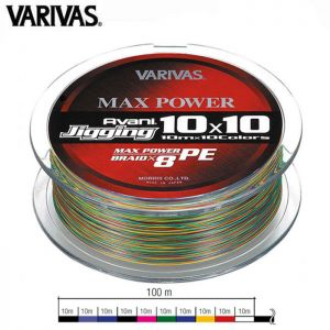 TRESSE VARIVAS AVANI JIGGING MAX POWER