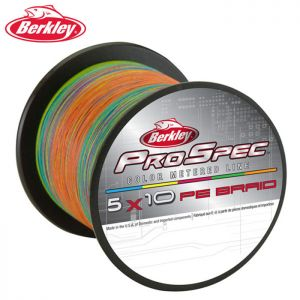 TRESSE BERKLEY PRO SPEC 5X10 PE BRAID 450M