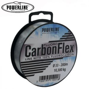 NYLON POWERLINE CARBONFLEX FLUORO 200M