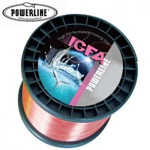 NYLON POWERLINE IGFA ROSE 1000M