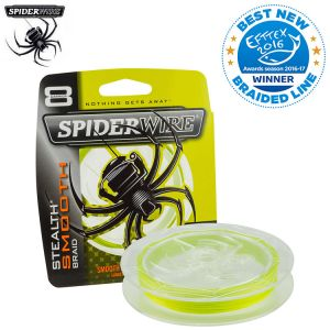 TRESSE SPIDERWIRE STEALTH SMOOTH 8 YELLOW 300M