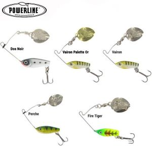 LEURRE MICRO SPINNERBAIT POWERLINE JIG POWER YOGOSPIN