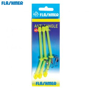 ANTI-TANGLE DE PECHE FLASHMER JAUNE FLUO
