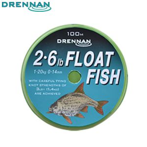 NYLON DRENNAN FLOAT FISH 100M
