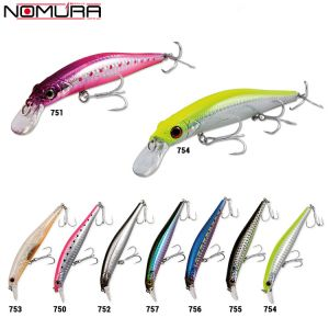 LEURRE NOMURA ALIVE MINNOW MIRROR EFFECT LIMITED EDITION 10,5CM