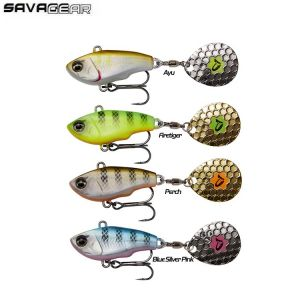 LEURRE SAVAGE GEAR FAT TAIL SPIN