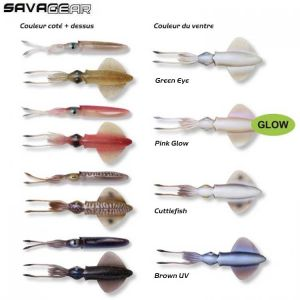 LEURRE SOUPLE SAVAGE GEAR 3D LB SWIM SQUID