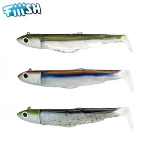 MAXI COMBO FIIISH BLACK MINNOW 140MM OFF SHORE 40GR KAKI + CLEAR BROWN + MOJITO