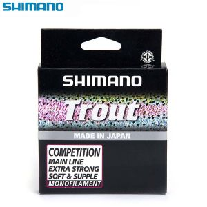 NYLON SHIMANO TROUT COMPETITION RED 150M