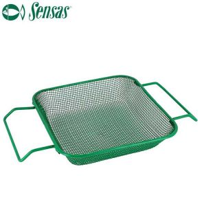 TAMIS GREEN BAIT BOX 16X16CM SENSAS