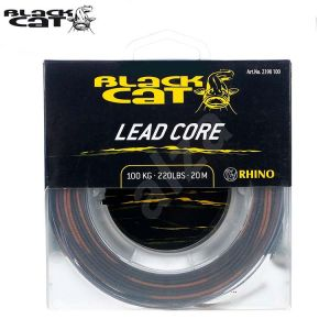 TRESSE A BAS DE LIGNE BLACK CAT LEAD CORE 20M - 100KG